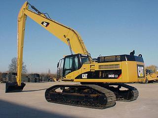 卡特彼勒345C挖掘机