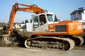 特雷克斯1604LC挖掘机