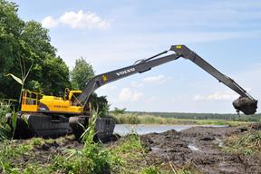 沃尔沃EC210BLR挖掘机