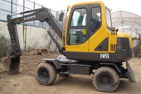 沃尔沃EW55挖掘机