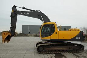 沃尔沃 EC240 挖掘机图片