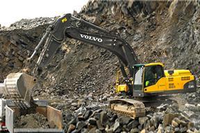 沃尔沃 EC360CL 挖掘机图片