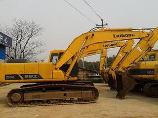 柳工 CLG205 挖掘机图片