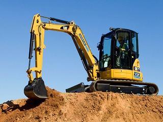 卡特彼勒305ECR挖掘机