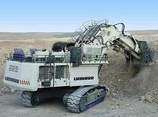 利勃海尔R904挖掘机