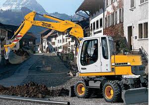 利勃海尔A900C挖掘机