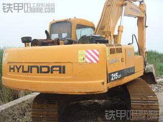 现代R210-5D挖掘机
