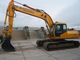 现代R210LC-5挖掘机