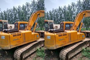 现代R220-V挖掘机