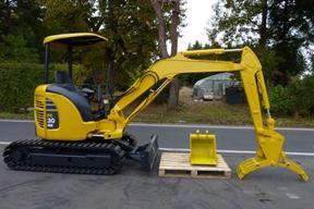 小松PC30MR-2挖掘机