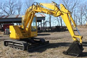 小松PC75UU挖掘机