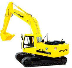 现代R245-7挖掘机