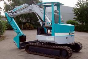 小松PC50UU-1挖掘机