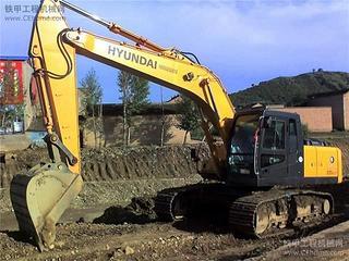 现代R245LC-9F挖掘机