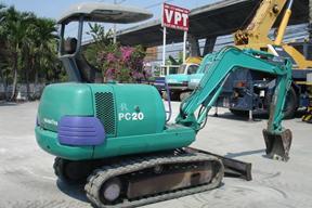 小松PC20-7E挖掘机