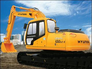 现代R130-5挖掘机