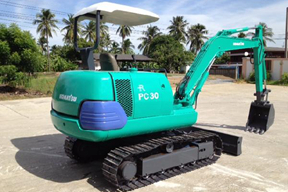 小松 PC30-7 挖掘機圖片