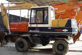 小松PW100S挖掘机