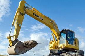 小松PC228US-2挖掘机