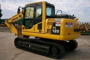 小松 PC120-8 挖掘機圖片