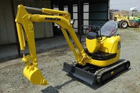 小松PC10MR-1挖掘机