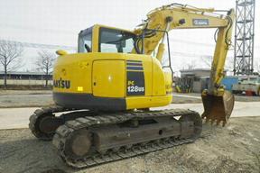 小松PC128US-8挖掘机
