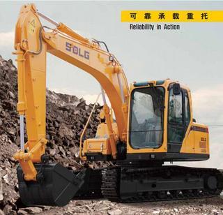 山东临工LG6135挖掘机