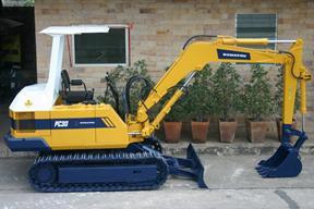 小松PC30-3挖掘机