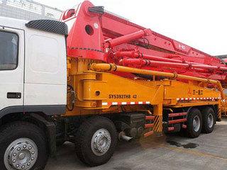三一重工 SY5633THB72 泵車圖片