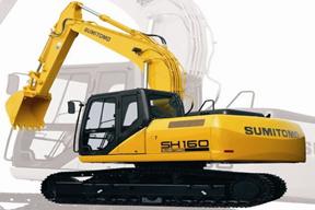 住友SH160挖掘机