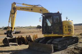 住友SH145挖掘机