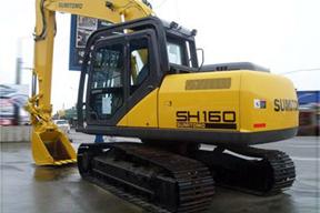 住友SH160-5挖掘机