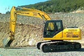 住友SH160-3挖掘机