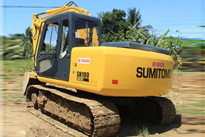 住友 SH100 挖掘机