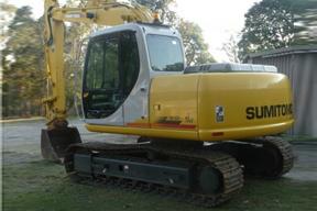 住友 SH120 挖掘机图片
