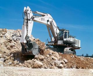 利勃海尔R984C挖掘机