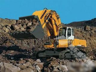 利勃海尔R974C挖掘机