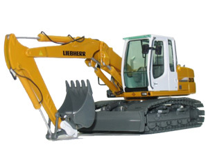 利勃海尔R313挖掘机