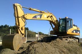卡特彼勒320BS挖掘机