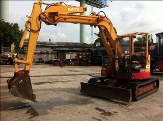 加藤HD50UR挖掘机