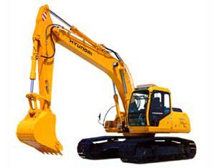 现代R420挖掘机