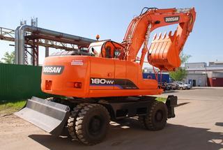 斗山S180WV挖掘机