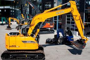 加藤HD513MRV挖掘机