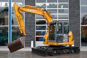 加藤 HD308US-V 挖掘機圖片