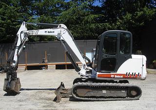 山猫337G挖掘机