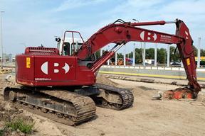 加藤HD823MR-LC挖掘机