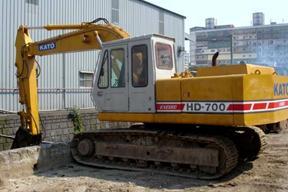 加藤 HD700 挖掘机图片