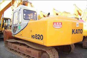 加藤 HD820 挖掘机图片