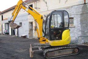 杰西博8027ZTS挖掘机