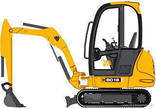 杰西博8016挖掘机